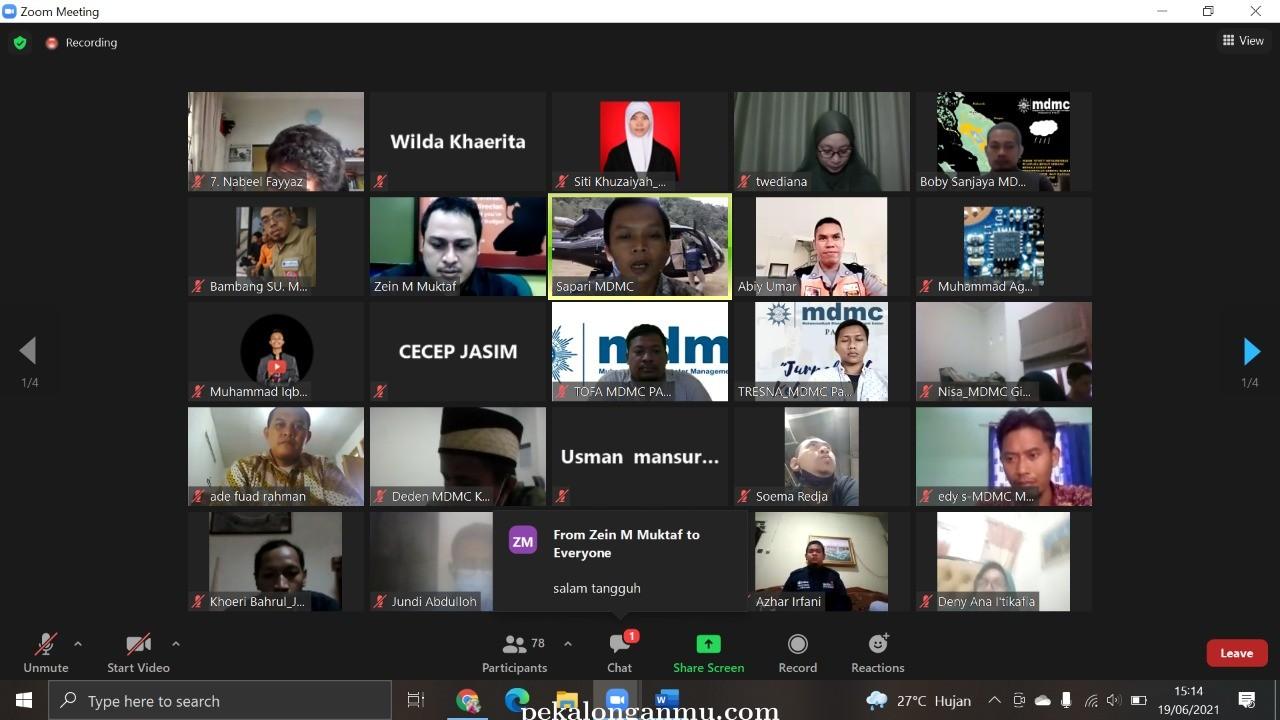 Tingkatkan Kapasitas Kader, MDMC Selenggarakan Workshop Jurnalis Bencana