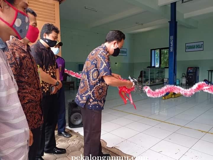 Kerjasama dengan Alumni, SMK Muhamka Buka Bengkel Pandawa