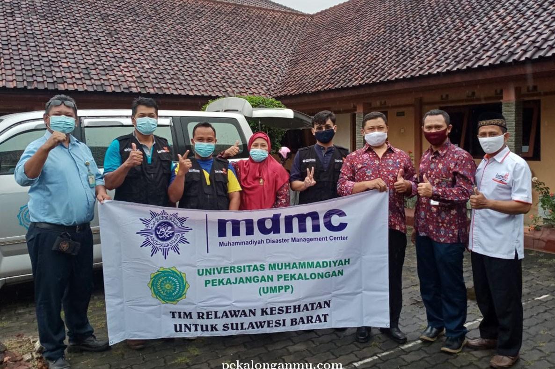 UMPP Berangkatkan Tim Kesehatan ke Sulbar
