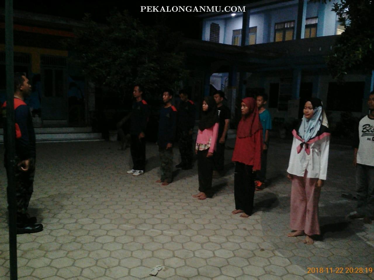 AMM Cabang Wonokerto Bekali kader Ilmu Baris Berbaris dan Beladiri Praktis