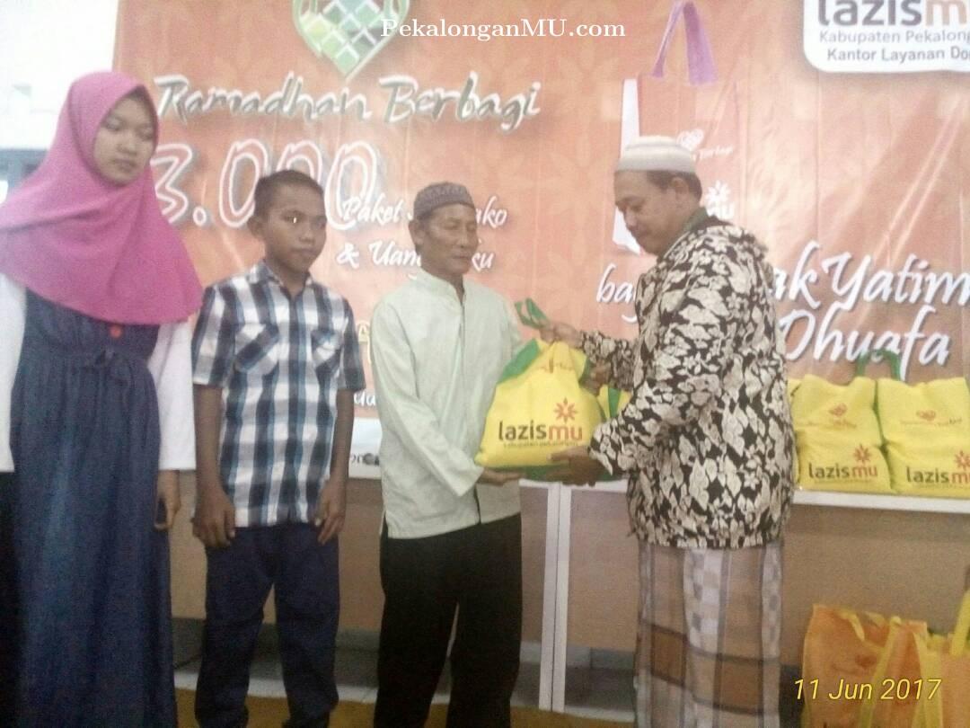 Tebar Senyum Yatim Dhuafa Lazismu Doro Berikan Santunan Kepada 175 Orang