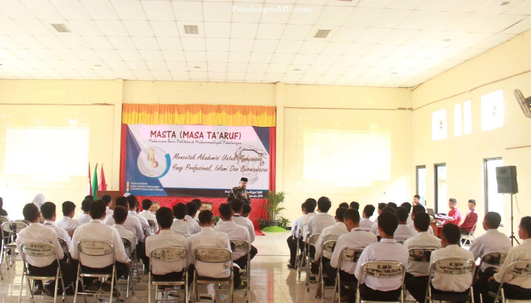 MASTA PK IMM Politeknik Muhammadiyah Pekalongan Serukan Mahasiswa Profesional, Islami, Dan Berwawasan