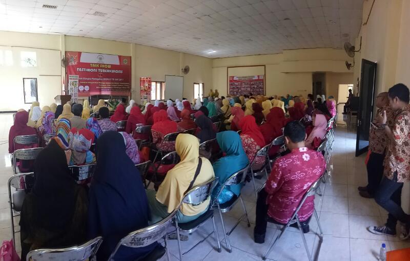 Pameran & Talk Show Testimoni Tuberkulosis Tim SSR Aisyiyah Kabupaten Pekalongan 13