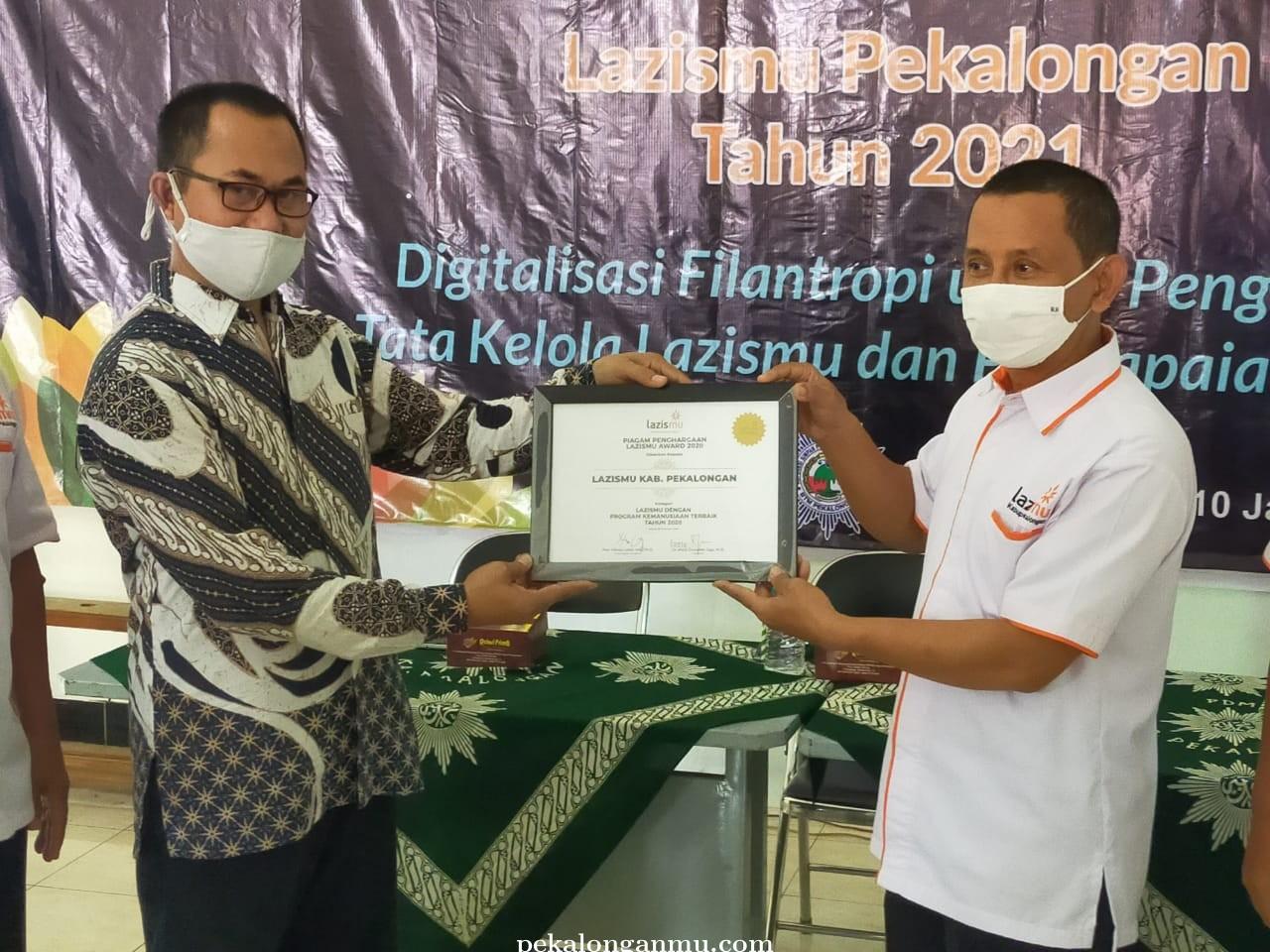Rakerda Lazismu Pekalongan Targetkan Penghimpunan ZISKA 2021 2,5 M.