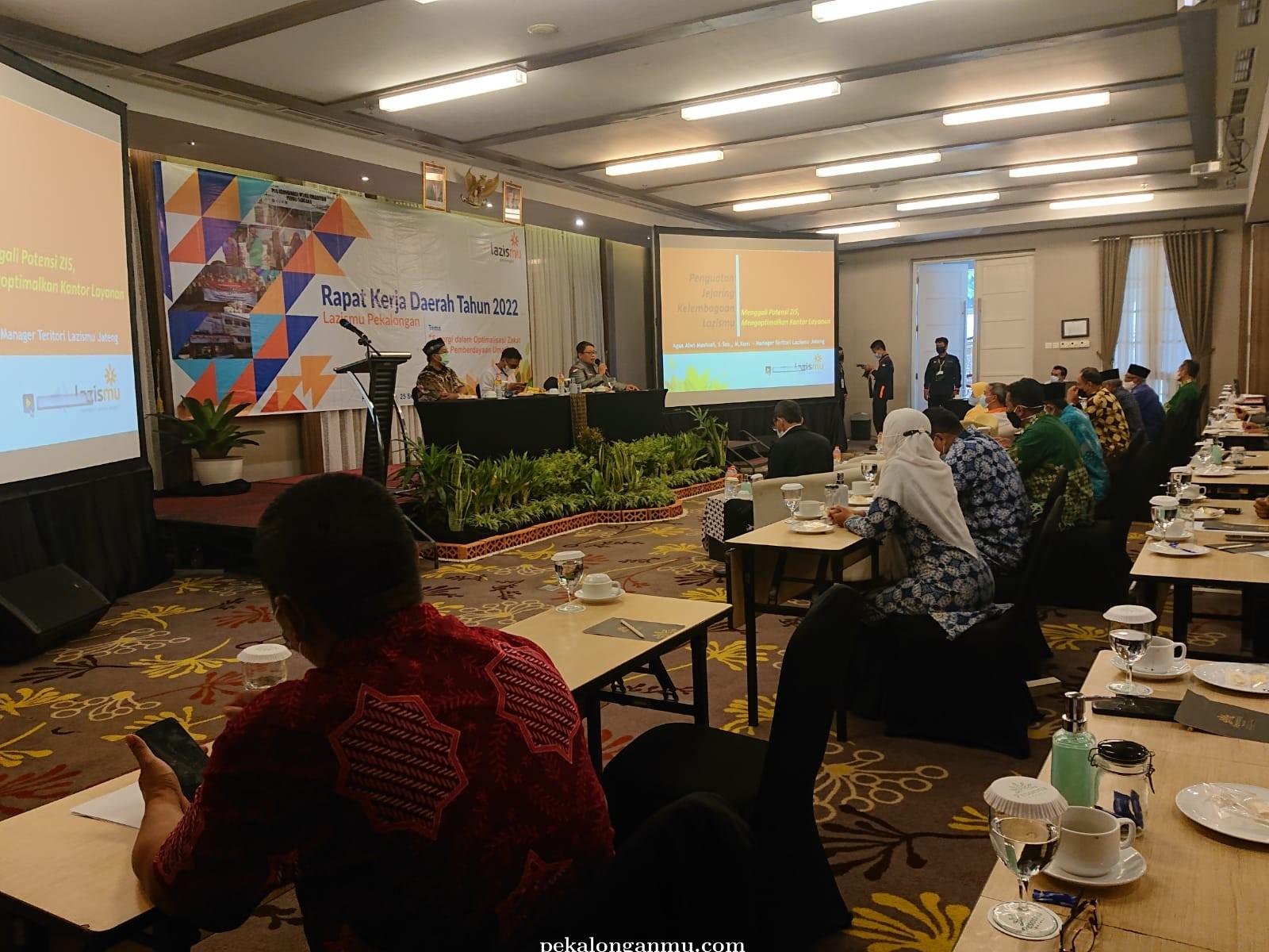 Dorong Program Pemberdayaan di Masa PPKM, Lazismu Kabupaten Pekalongan Gelar Rakerda