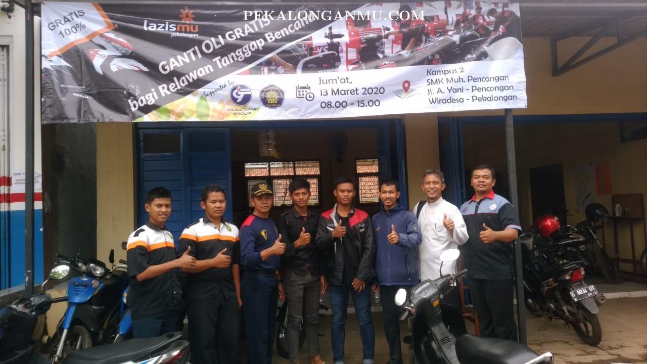 Apresiasi Relawan Tanggap Bencana Banjir,..